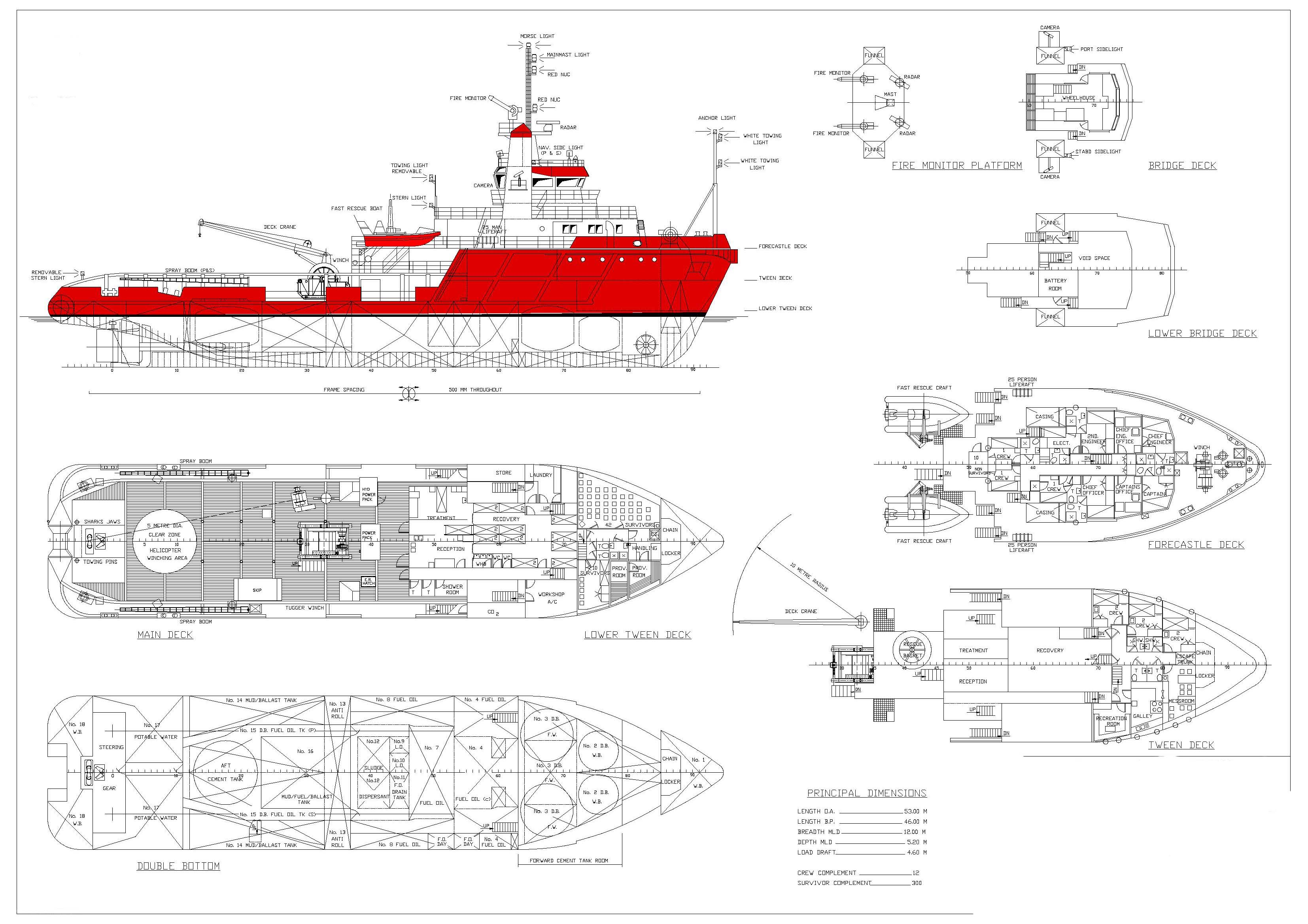 53m Emergency Response and Rescue Vessel ERRV SOLD ...