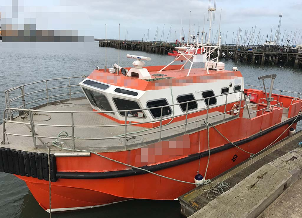 15 05m Crew boat For Sale & Charter - reduced to £280,000